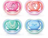Ultra Air - 2 Pacifiers - 6-18 months assorted colors