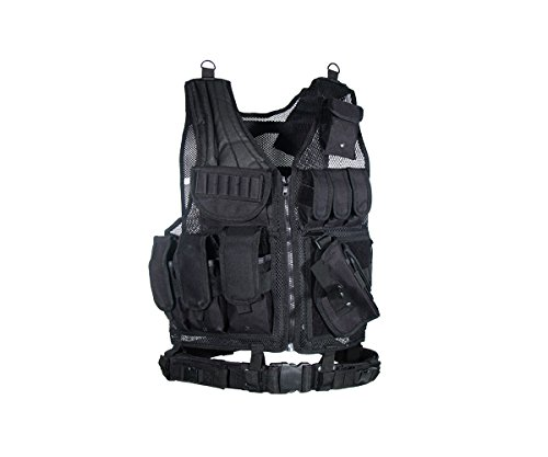 UTG Sportsman Tactical Scenario Vest, Black