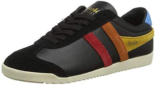 Gola Damen Bullet Trident Sneaker, Schwarz (Black/Multi Bz), 38 EU