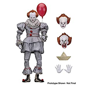"Alician FunGame NECA - IT - Figura de acción de Escala de 7 ""- Ultimate Pennywise (2017) edición 3"