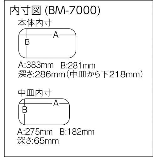 メイホウ(MEIHO)バケットマウスBM-7000(ブラック)