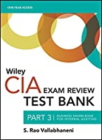 Wiley CIA Test Bank 2021: Part 3, Business Knowledge for Internal Auditing (1-year access)