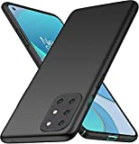 Toppix Compatible with OnePlus 8T / 8T Plus Case, Hard PC Backcover [Anti-Scratch] [Ultra-Light] Slim Shell Protective Cover for OnePlus 8T / 8T Plus, Black