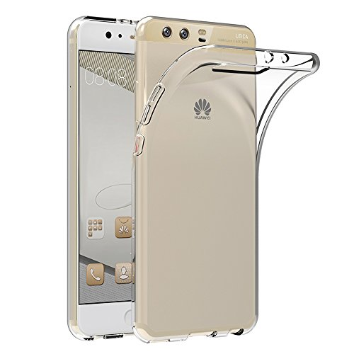 AICEK Huawei P10 Plus Hülle, Transparent Silikon Schutzhülle für Huawei P10 Plus Hülle Crystal Clear Durchsichtige TPU Bumper Huawei P10 Plus Handyhülle
