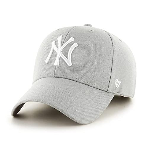 '47 New York Yankees Gorra, Gris (Grey), (Talla del Fabricante: Talla única) Unisex Adulto