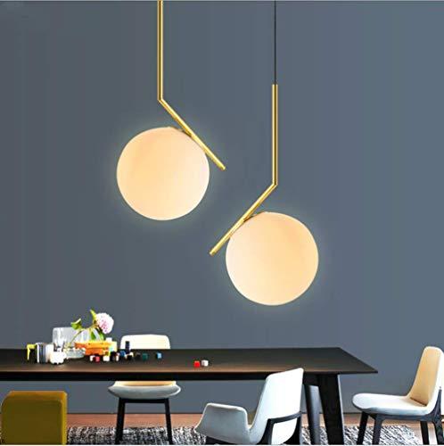 Moderne Plafond Industriel Éclairage Verre Boule De Loft Suspension Lampe De Plafond Vintage Abat-Jour Loft Café Bar Cuisine Pendentif Suspension