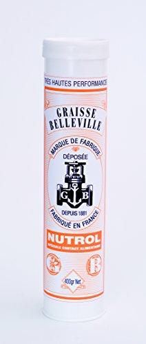 NUTROL Cartouche de graisse blanche pour contact alimentaire 400g