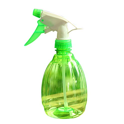 DingLong Drucksprühflasche Sprühflasche Pumpsprühflasche, Universal-Pump-Druck-Sprüher, Handdruckart, 18 * 8cm für Blumen Gießen, Reinigen Abschluss Ihrer Frisur (Grün)