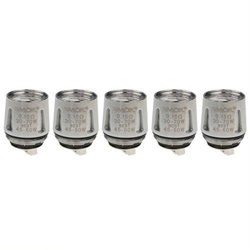 SMOK V8 Baby-X4 Coils, 0,15 Ohm, Riccardo Verdampferköpfe für e-Zigarette, 5 Stück