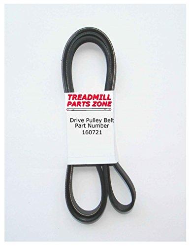 TreadmillPartsZone Weslo Model WLEX1076FM1 Pursuit 350 Bike Drive Pulley Belt Part 160721