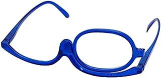 180 Degree Rotating Monocular Women Cosmetics Glasses Makeup Reading Glasses