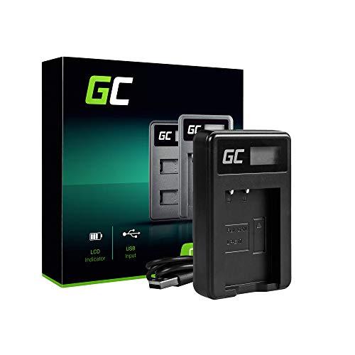 Green Cell® LC-E17 Chargeur pour Canon LP-E17 Batterie et EOS 750D, EOS 760D, EOS 77D, EOS 8000D, EOS Rebel SL2, EOS Rebel T6i, EOS Rebel T6s, EOS Rebel T7i, Kiss X8i Caméras (5W 8.4V 0.6A Noir)