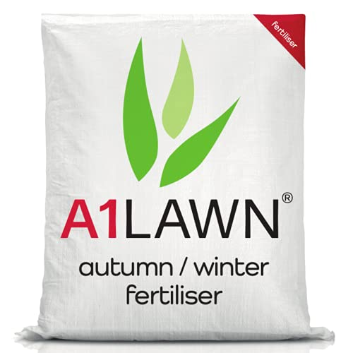 A1 Lawn Ultimate Autumn Winter Lawn Fertiliser, 10kg (280m2) -...