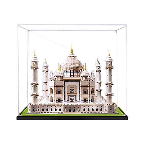 ZHLY Teca Acrilico Vetrina per Lego 10256, Casella di visualizzazione Compatibile per Lego 10256 Creator Taj Mahal (Non Incluso Modello)