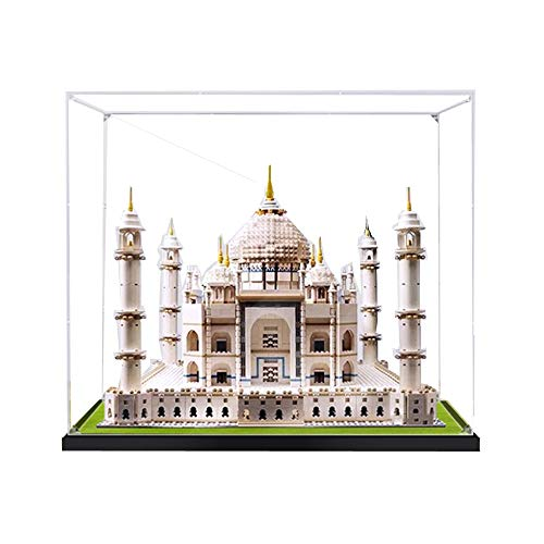 ZHLY Vitrine Schaukasten Für Lego Creator Taj Mahal Display Case Acryl Schaukasten für Lego 10256 (Nicht Enthalten Lego Modell)