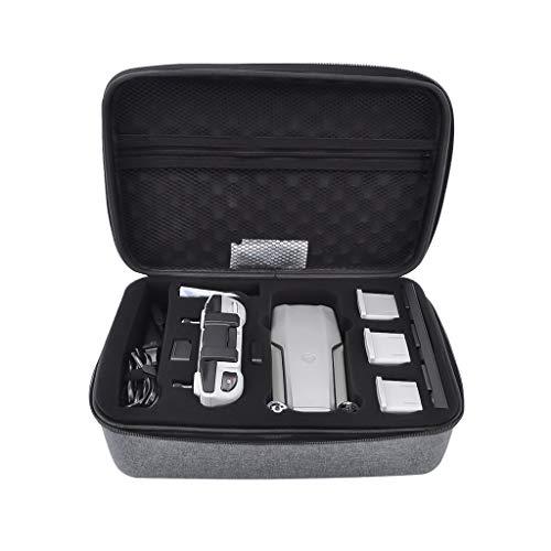 CUEYU Tragetasche für DJI Mavic Air 2 Drone, Tragetasche Handtasche Passend für DJI Mavic Air 2 Drohnen Batterien, Ladegerät-Netzteil und Fernbedienung (Dunkelgrau)