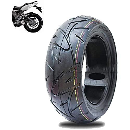 DIESZJ Neumáticos para Scooters eléctricos o Motos, 130/60-13 Neumático de vacío ensanchado y Engrosado Antiapuñalamiento Ranura Antideslizante Profunda Alta Estabilidad Pasabilidad Fuerte