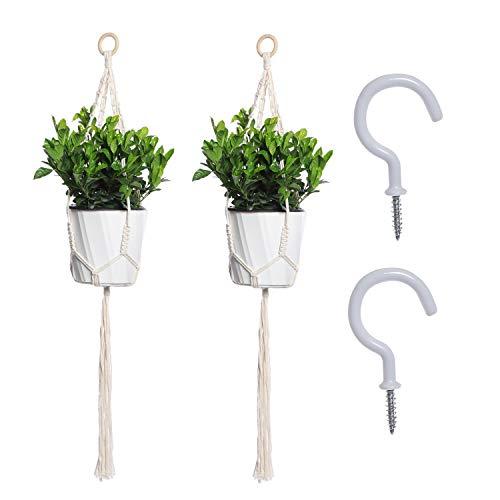 $4.59  Price Drop 2 Pack Macrame Plant Hangers No promo code needed