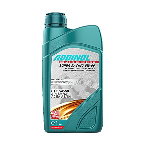 ADDINOL SUPER RACING 5W-50 A3/B4 Motorenöl, 1 Liter