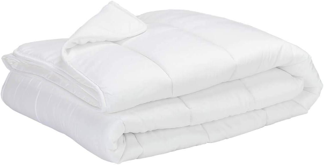 _Velfont_ Relleno Nórdico Ordino 90% Plumón y Tejido de algodón (Cama 90 (150x220cm))