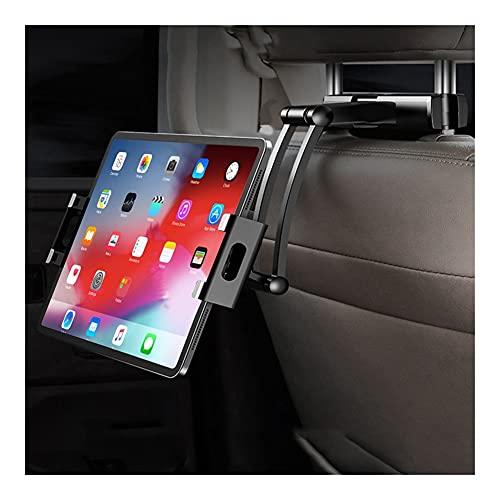 LINMAN Flexible 360 Grados giratorios para Almohada de automóvil para iPad portafle de teléfono móvil Tablet Stand Stand respaldado Soporte de Montaje del reposacabezas 5-11 Pulgadas
