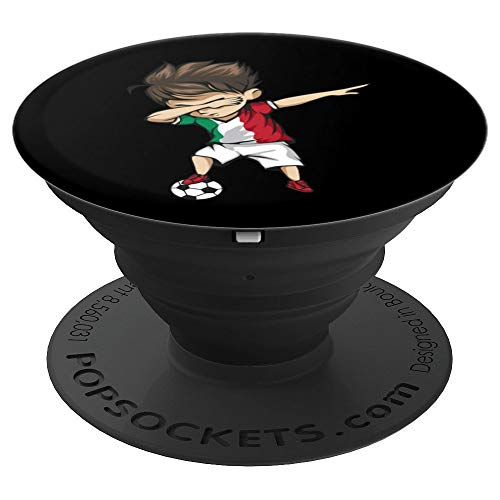 Dabbing Soccer Boy Italy Jersey - Italian Football PopSockets Grip and Stand for Phones and Tablets