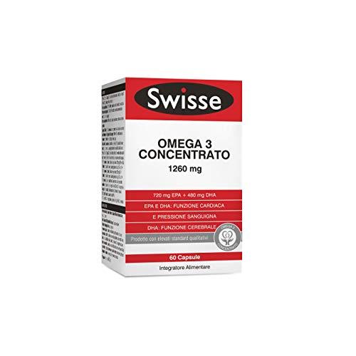 Swisse Omega 3 Concentrato, Integratore Alimentare, 60 capsule