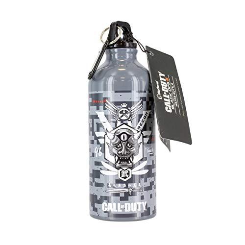 Paladone Unisex Call Of Duty Metall-Wasserflasche Black Ops 4 COD, offizielles Lizenzprodukt, mehrfarbig, 600 ml