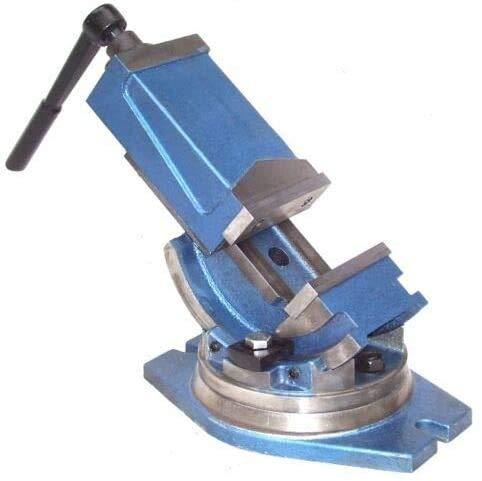 55529 QHK100 - Tornillo de banco giratorio (2 ejes, giratorio)