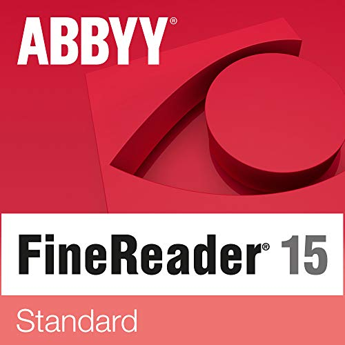 ABBYY FineReader 15 Standard | Deutsch Vollversion inkl. Backup DVD