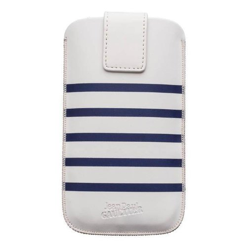 Jean Paul Gaultier Smartphonetasche Sailor Weiß/Blau für max. Phone: 123,8 x 58,6 x 7,6 mm
