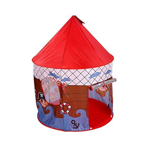 PlayTent - Tienda de campaña para niños pequeños y pequeños, diseño de pirata