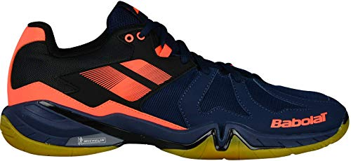 Babolat Badmintonschuh Shadow Spirit Men 2018 Blau/Orange (46)