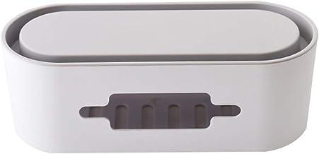 STOBOK Caixa de Gerenciamento de Cabo Organizador de Cabo Caixa de Telefone Suporte Fios Ocultador para Home Office Desk P...