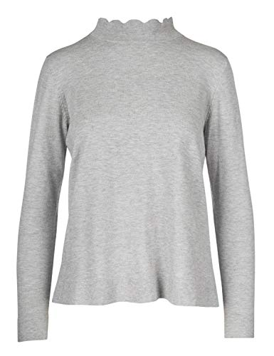 Malvin Damen Pullover, Old Silver, XL