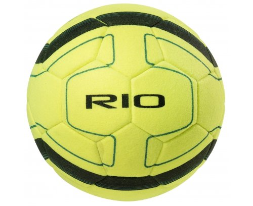 PRECISION Rio Balón de Fútbol Indoor, Amarillo/Negro, 4