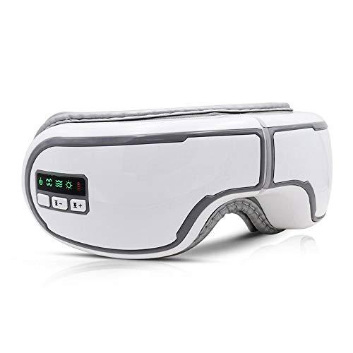 Preisvergleich Produktbild JIANG BREEZE Bluetooth Musik-AugeMassager,  Smart-heiße Kompresse Augenmaske mit Luftverdichtung und Musik,  für Relax Augen Prävention von Myopie reduzieren Augenringe