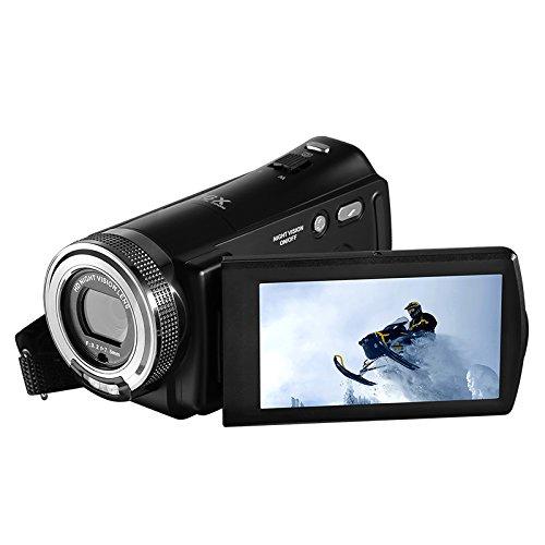 Express Panda® Ordro HDV-V12 Full HD Cámara de Vídeo Digital con Visión...