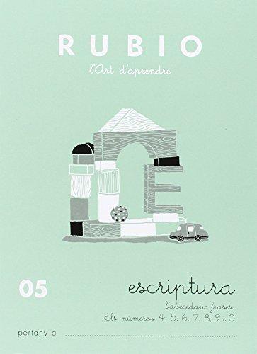 Rubio P-C05 CAT - Cuaderno escritura (Escriptura RUBIO (català))