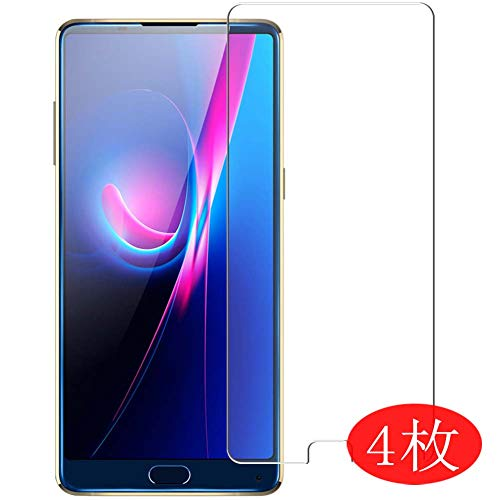 【4 Pack】 Synvy Screen Protector for KOOLNEE K1 Trio 0.14mm TPU Flexible HD Clear Case-Friendly Film Protective Protectors [Not Tempered Glass] New Version