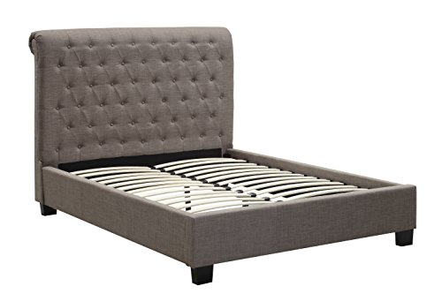 Modus Furniture Royal Tufted Headboard, King, Espresso