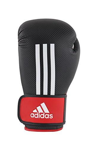 adidas Boxhandschuhe Energy 200, Schwarz/Weiß/Rot, 10