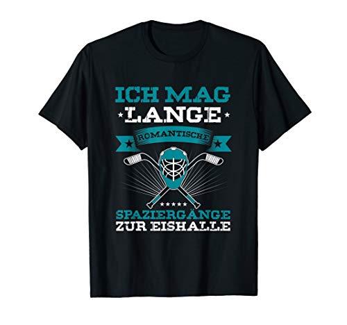 Eishalle Eishockey Hockeyschläger Eishockeyspieler Geschenk T-Shirt