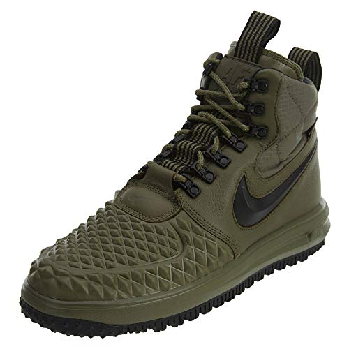 Nike Men's Lunar Force 1 Duckboot '17 (Medium Olive/Black-Wolf Grey, 8.5, 916682-202, 916682-202)