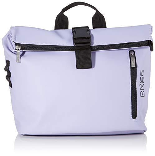 BREE Unisex-Erwachsene PNCH 722 messenger bag S Umhängetasche, Violett (Lavender), 12x36x33 cm