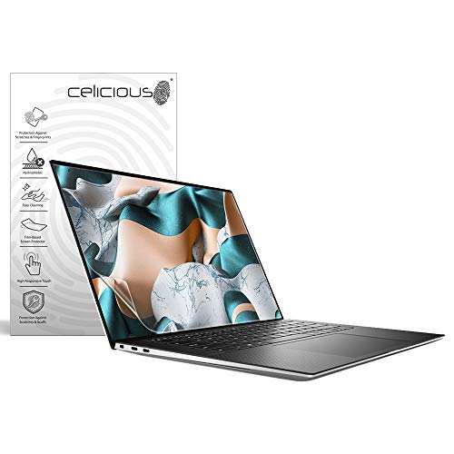 Celicious Impact Anti-Shock Shatterproof Screen Protector Film Compatible with Dell XPS 15 9500 (Non-Touch)