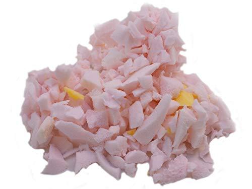 Primaflor - Ideen in Textil 1kg Füllmaterial Schaumstoffflocken Bastelmaterial Kissenfüllung Füllung für Kissen, Sitzsäcke und Stofftiere