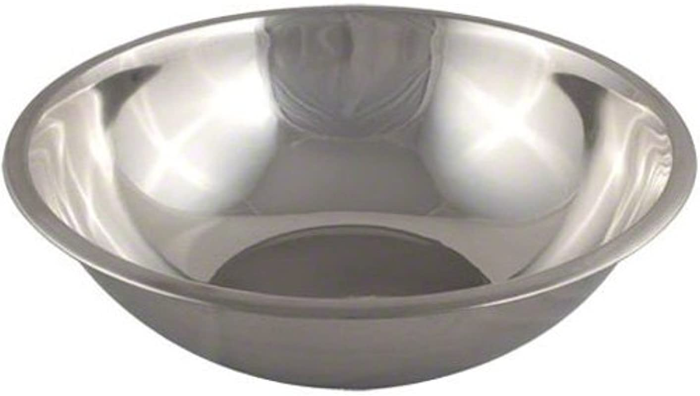 American Metalcraft SSB1300 Stainless Steel Mixing Bowl 16 Diameter Silver 13 Quart