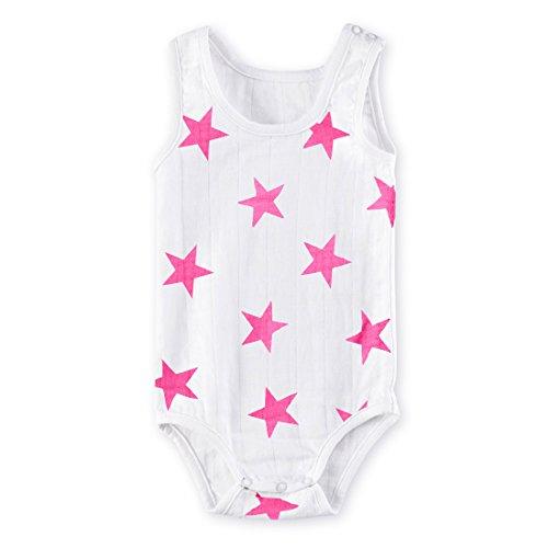 Aden plus anais - Aden anais body sans manche pink star 0-3 mois 2308