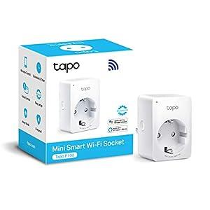 immagine di TP-Link Presa Intelligente WiFi Smart Plug, Compatibile con Alexa e Google Home, Controllo Remoto tramite APP Tapo, 10A, 2300W (Tapo P100)